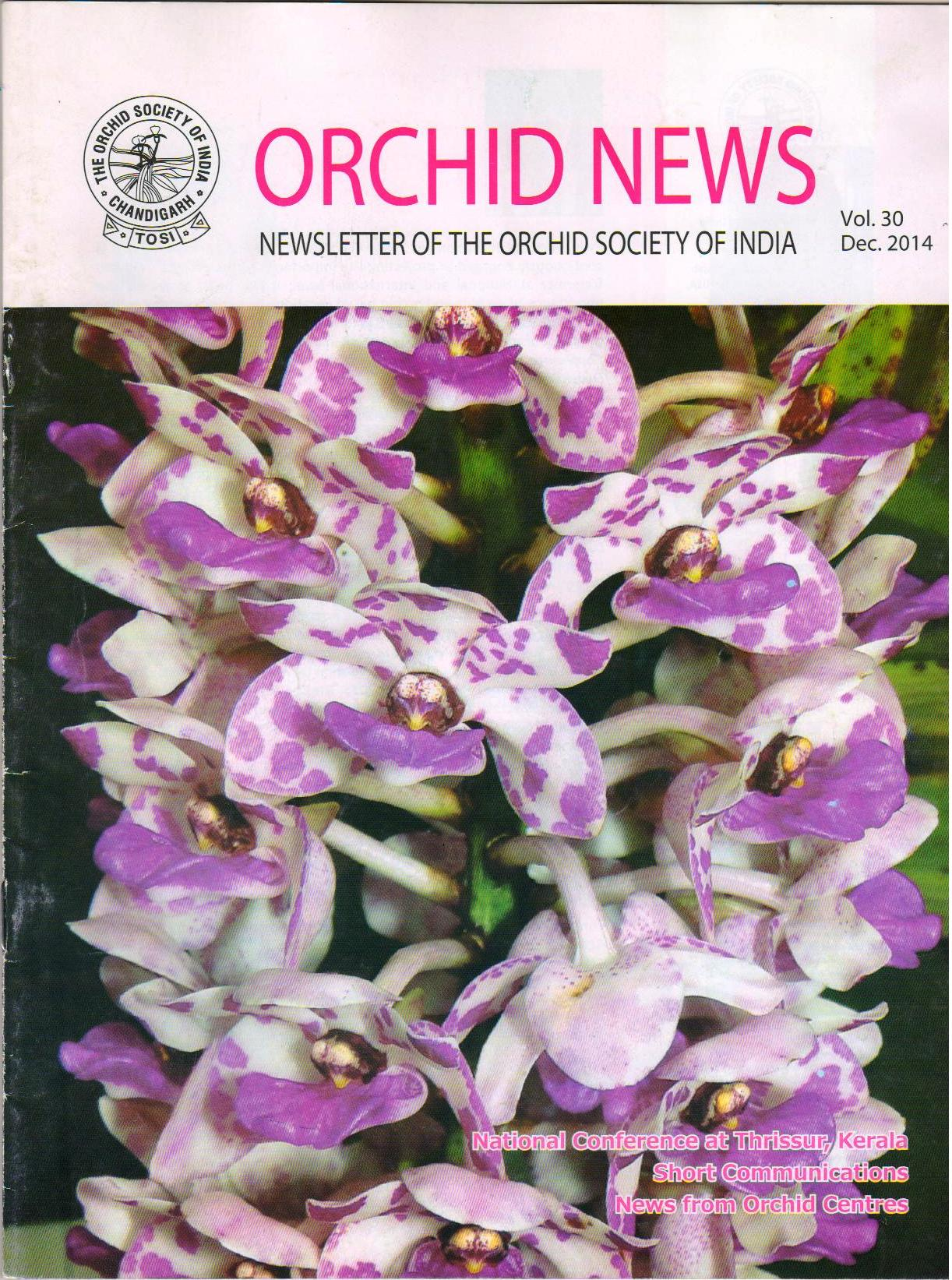 orchid news 2014